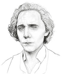 Tom Hiddleston wip by Kayalina