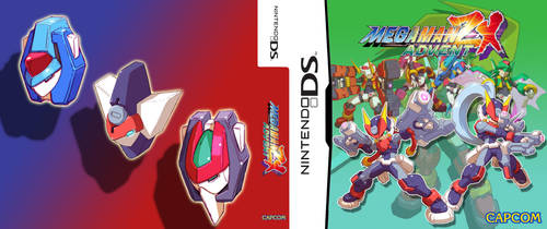 Megaman ZX Advent Cover by QuassarSonic2010