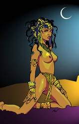 Dejah Thoris by TheJunkMonkey