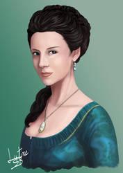 portrait de Caitriona Balfe by LutineSB