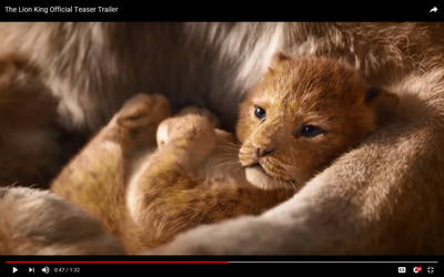 LIVE ACTION Baby simba by luner-tigher