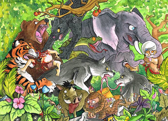 The Jungle Book by frowzivitch