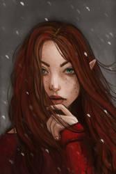 Redhead 4 by jenc