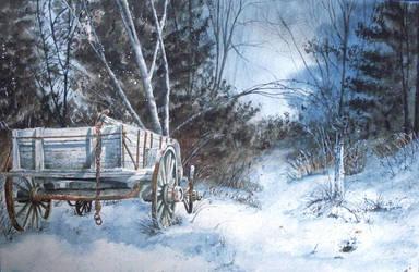 Winter Woods by judylee
