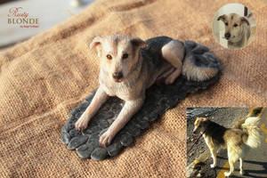 Cumbo The Dog Figurine by imge