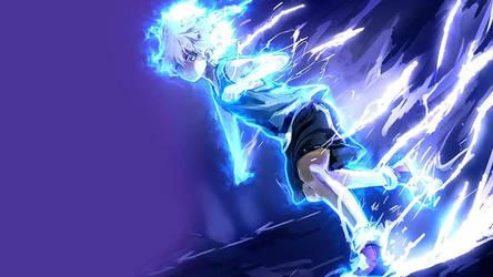 Killua Electric Nen Transmutation Wallpaper Engine by WallpapeEngine