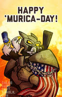 Happy 4th of July! by GalooGameLady