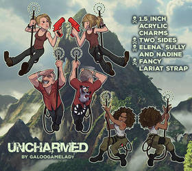 Uncharmed charms - 2nd series available! by GalooGameLady