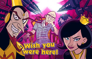 Venture Bros - The Monarch's Lair by GalooGameLady