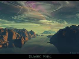 Planet View by IzaLoozer