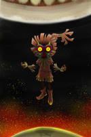 Skull Kid , Majoras Mask by SheapSheap