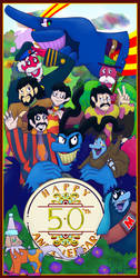 Yellow Submarine 50th Anniversary by BigBlueBeastBBB