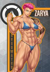 Zarya fan-art! by Ero-Chong