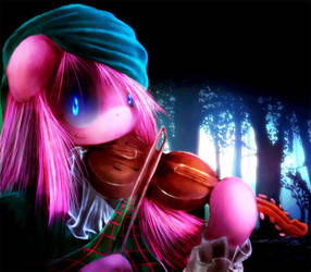 Violin Pinkamena by C-D-I