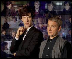 Sherlock and John by Amrinalc