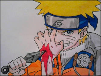 Uzumaki Naruto by Amrinalc
