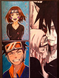 Obito and Rin by Amrinalc
