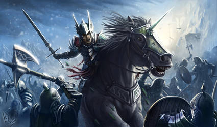 Battle by RaymondMinnaar