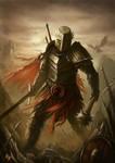 Knight  (cover artwork) by RaymondMinnaar