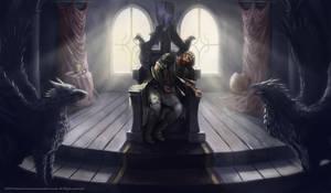 Kingdom of Knights Illustration by RaymondMinnaar