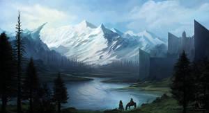Fantasy Landscape by RaymondMinnaar