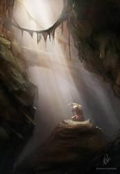 Deep prayer by RaymondMinnaar