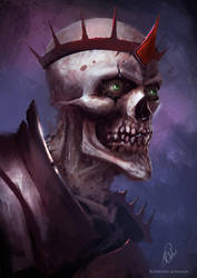 Undead King by RaymondMinnaar