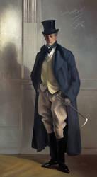 John Singer Sargent - Master study by RaymondMinnaar