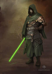 Midieval Jedi by RaymondMinnaar