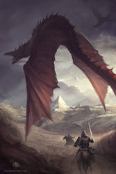 Dragon Chaser by RaymondMinnaar
