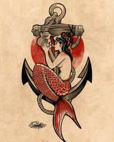 Mermaid by tintanaveia