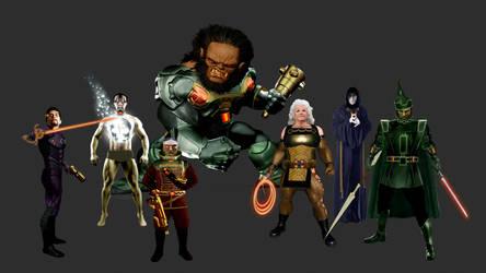 Darkseid's Elite by Gene-Mederos