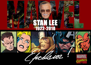 RIP Stan Lee by Gene-Mederos
