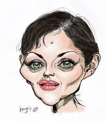 Marion Cotillard caricature by kyungjin74