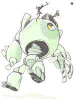 Mega robo by okavango