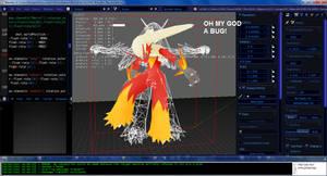 Blazekin in kinectemoOH MY GOD A BUG! by TheModerator