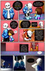 Reminiscence: Undertale Fan Comic Pg 3 by Smudgeandfrank