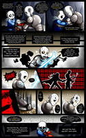 Reminiscence: Undertale Fan Comic Pg. 15 by Smudgeandfrank