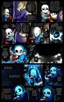 Reminiscence: Undertale Fan Comic Pg. 16 by Smudgeandfrank