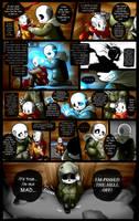 Reminiscence: Undertale Fan Comic Pg. 19 by Smudgeandfrank