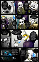 Reminiscence: Undertale Fan Comic Pg. 28 by Smudgeandfrank