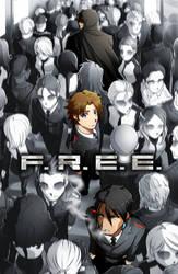 F.R.E.E. Volume 1 Cover by Smudgeandfrank
