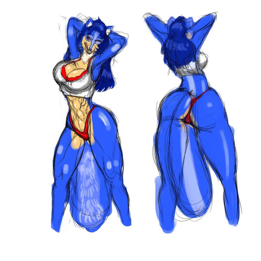 Tyra fun sketch by mechaguy