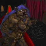 Iris werewolf sketch wip 3 by mechaguy