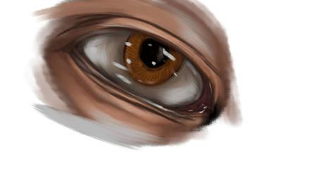 Eye Study by mechaguy