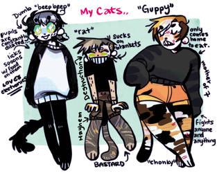 Mi Cats by shmeaty