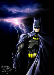 Batman by DeEtta