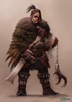 Monster Hunter Challenge - Harpy Armor by SpineBender