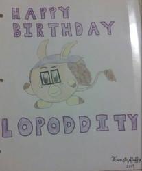 Birthday Art: Wandering Mind the Kirby by Funsizefluffy