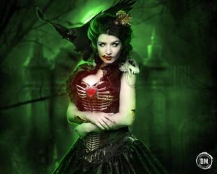 Esmeralda-zombie queen by GRAPHICSOUL